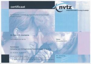 Certificaat Toezichthouder NVTZ, versie 2